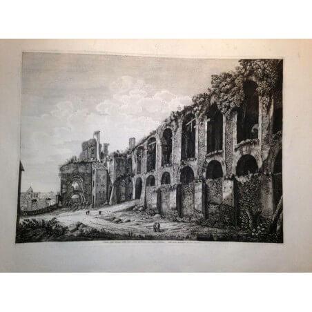 Veduta de Roma Luigi Rossini
