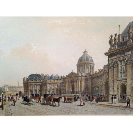 Paris dans sa splendeur, l'Institut.