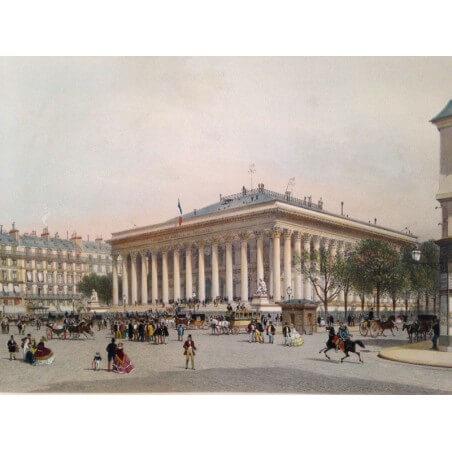 Paris dans sa splendeur, la bourse.