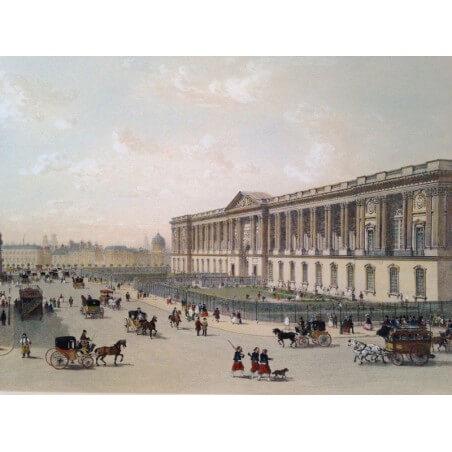 Paris dans sa splendeur, Colonnade du Louvre.
