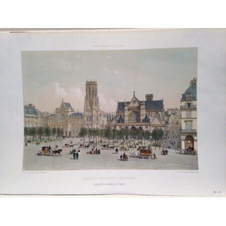 Paris dans sa splendeur, Eglise Saint Germain l' Auxerrois.
