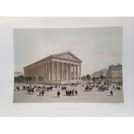 Paris dans sa splendeur, Eglise de la madeleine.