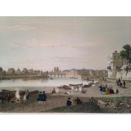 Paris dans sa splendeur, Paris sous louis XV.