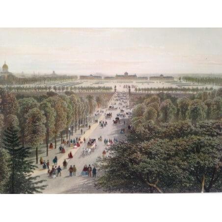 Paris dans sa splendeur, Champs de Mars et École militaire.