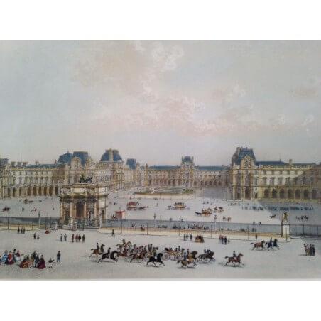 Paris dans sa splendeur, le nouveau Louvre.