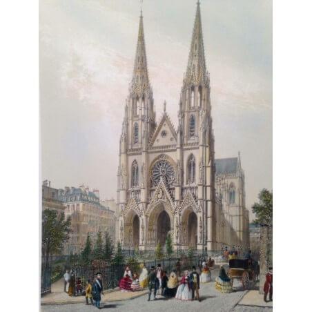 Paris dans sa splendeur, Église sainte Clothilde.