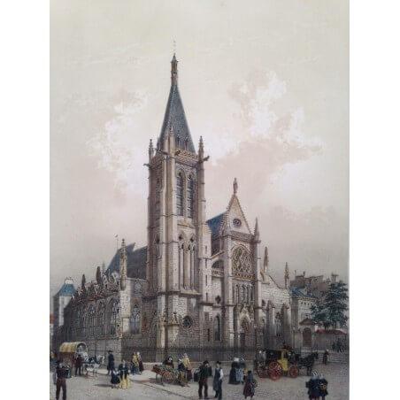 Paris dans sa splendeur, Église Saint Severin.