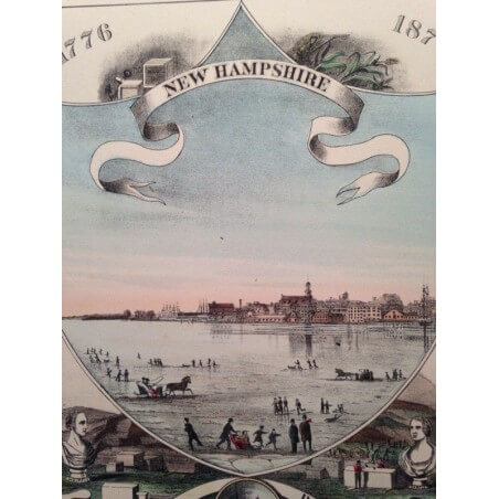 New Hampshire, city of Portsmouth 1876