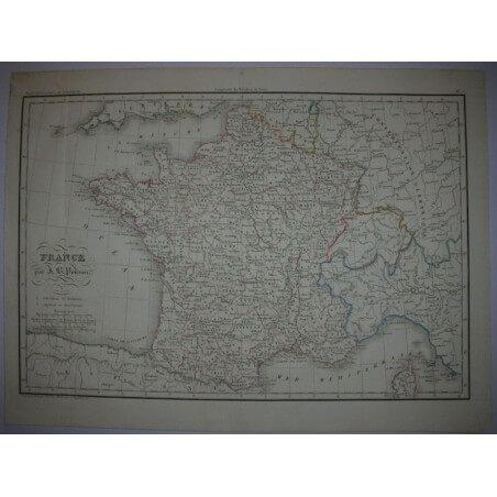 France par Poirson  1850
