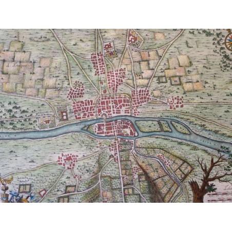DELAMARE, traité de Police 1709, Plan de Paris