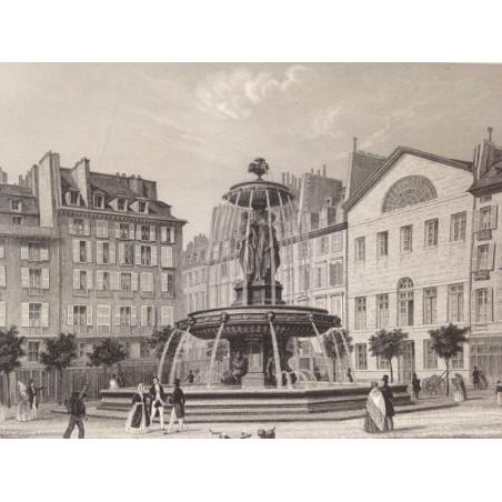 Vue de Paris 1855