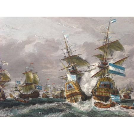 Combat naval du TEXEL, 29 Juin 1694