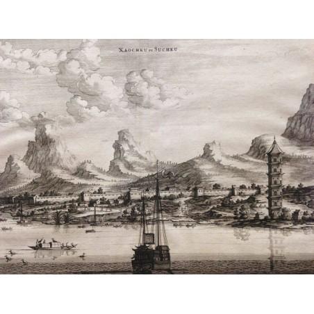 NIEUHOFF 1665, CHINE, XAOCHEU ou SUCHEU