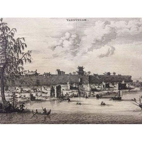 NIEUHOFF 1665, CHINE, VANNUNGAM