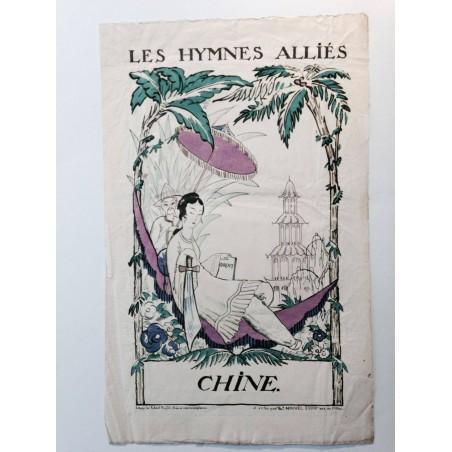 Robert BONFILS, Les hymnes alliés, Chine