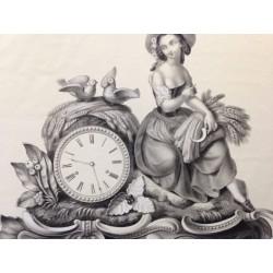 Horloge, la glaneuse