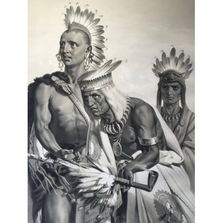 La découverte du Mississipi, DE SOTO 1541