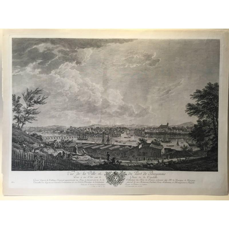 Joseph VERNET , les ports de France,Bayonne