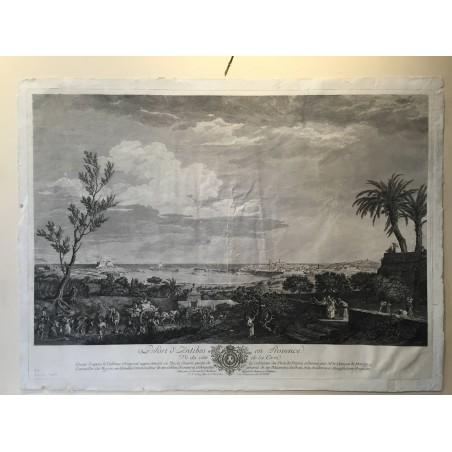 Joseph VERNET , les ports de France, Antibes