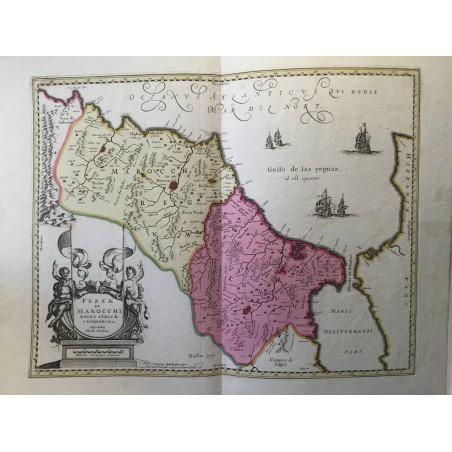 FEZA et MARROCHI, Petrus SCHENK, Gerard  VALK 1695-1711