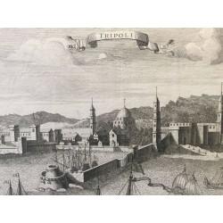 TRIPOLI, LYBIE, AVELINE, 18 éme siècle