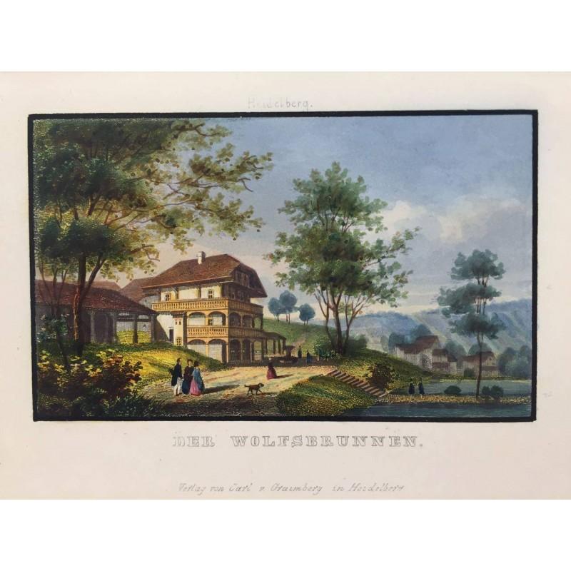 Chateau de HEIDELBERG, 1856