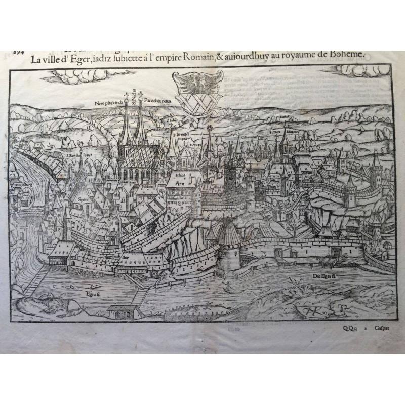 sebastien MUNSTER, Cosmographie 1544-1598