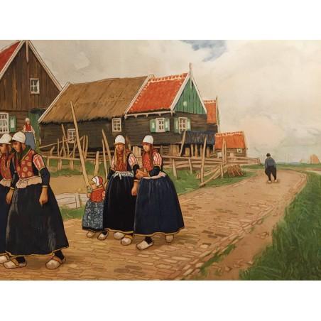 CASSIERS, Henri, scène hollandaise