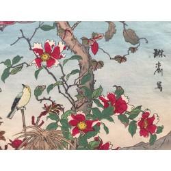 Utsushi RINSAI, 1880, paysages Japonais
