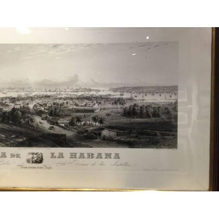 Panorama de la Habana, Ed Willmann, G.B Haase, 1855