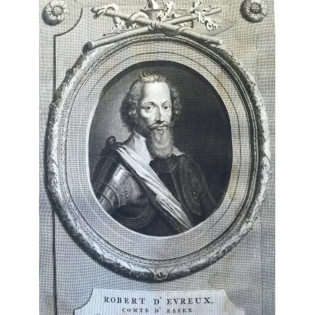 Robert d' Evreux, Comte d'Essex