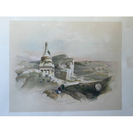 David ROBERTS, Lithographie Originale, Nubie, Egypt, Syrie,..