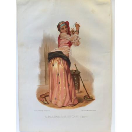 Almée, danseuse du Caire, 1855