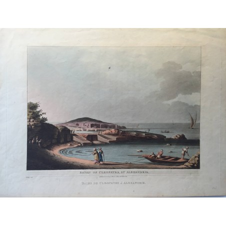Bains de Cléopatre à Alexandrie, Luigi MAYER 1802