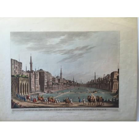 Partie du grand Caire, Luigi MAYER, 1802