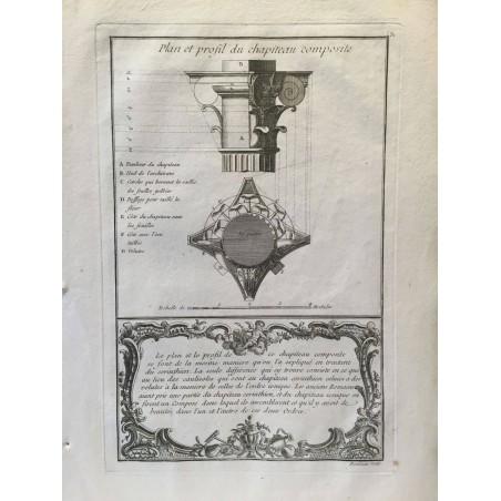 Les cinq ordres d'Architecture par Jacques Barrozio VIGNOLE, 1760