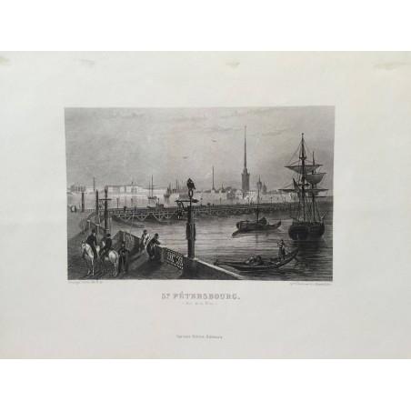 ST PETERSBOURG, Rouargue, 1850