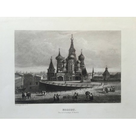 MOSCOU Rouargue, 1850