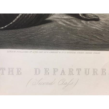 The departure, A Salomon, W.H Simmons, 1857, Australie