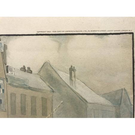 Six old coaching roads, the Bull at Dartford, 1903, Cecil Aldin