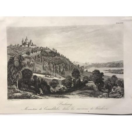 Biclany, monastère de Camaldules dans les environs de Krakovie