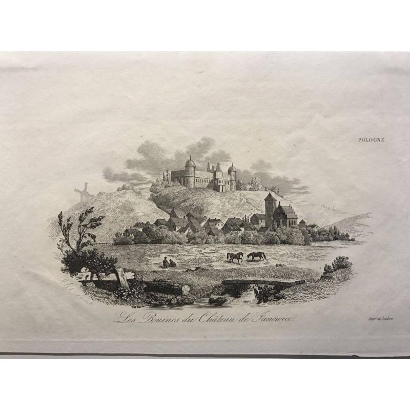Les ruines du château de Sanoviec