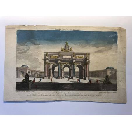 Vues d'Optique nouvelle, représentant le théâtre des anciens Romains