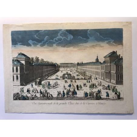 Vue Septentrionale de la grande place dite Carrière à Nancy