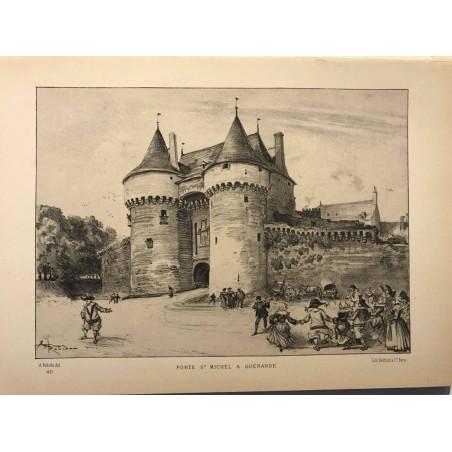 Robida, Porte Saint Michel à Guérande,1880