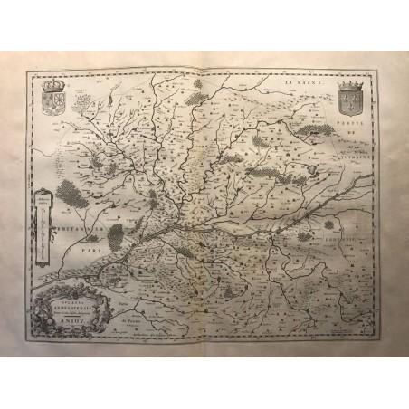 Ducatus Andegavensis, Anjou, Blaew 1636