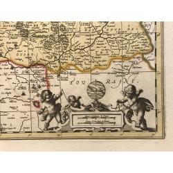 Diocése du Mans, G.Valck, Petrus Schenk, 1650
