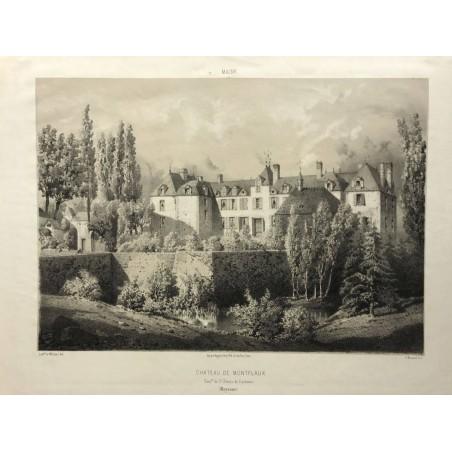 Chateau de Montflaux, Mayenne