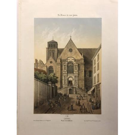 Laval, la France de nos jours,1850