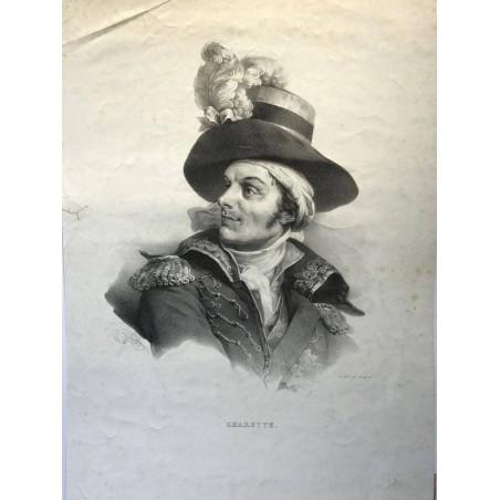 Chefs Vendéens, Charette,1824